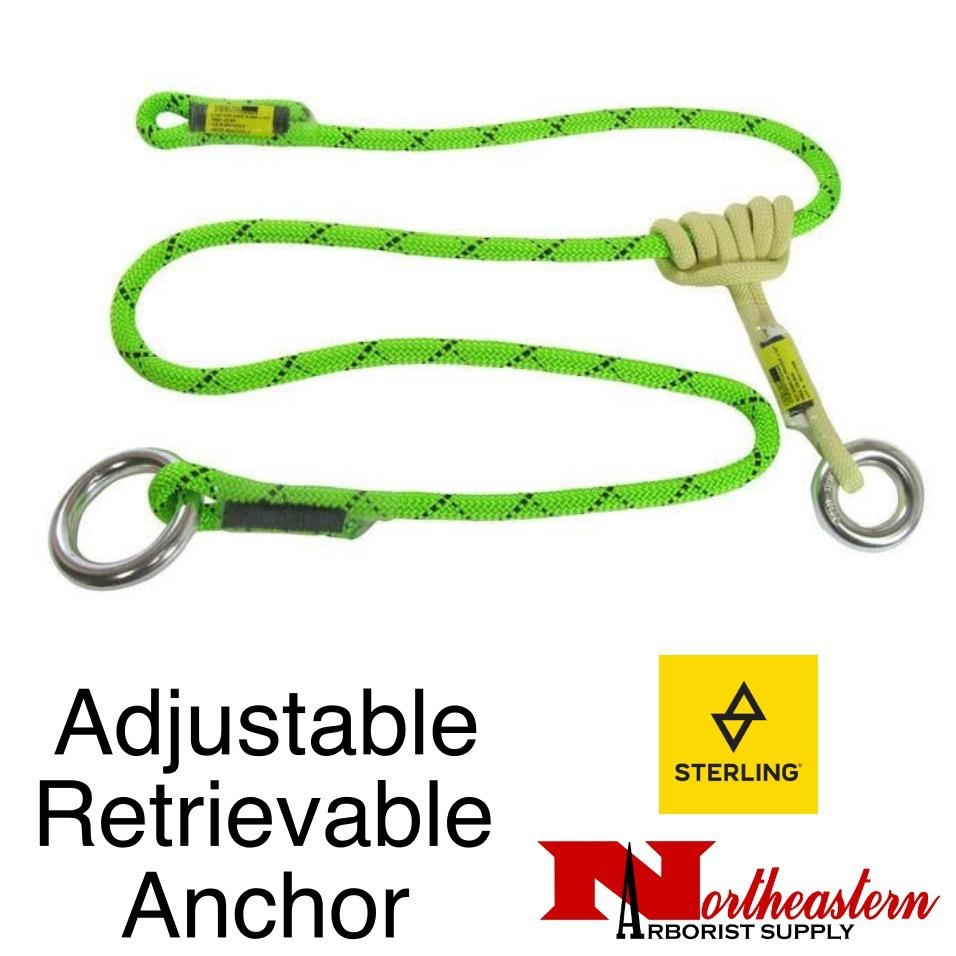 Sterling Adjustable Retrievable Anchor Neon Green