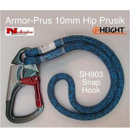 @ HEIGHT Armor Prus 10 mm Hip Prusik with ISC SH903 Snap and Sewn Eye