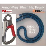 @ HEIGHT Armor Prus 10 mm Hip Prusik with ISC SH901A Snap and Sewn Eye