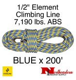 """Sterling 1/2"""" Element Blue 7,190 lbs. ABS"""