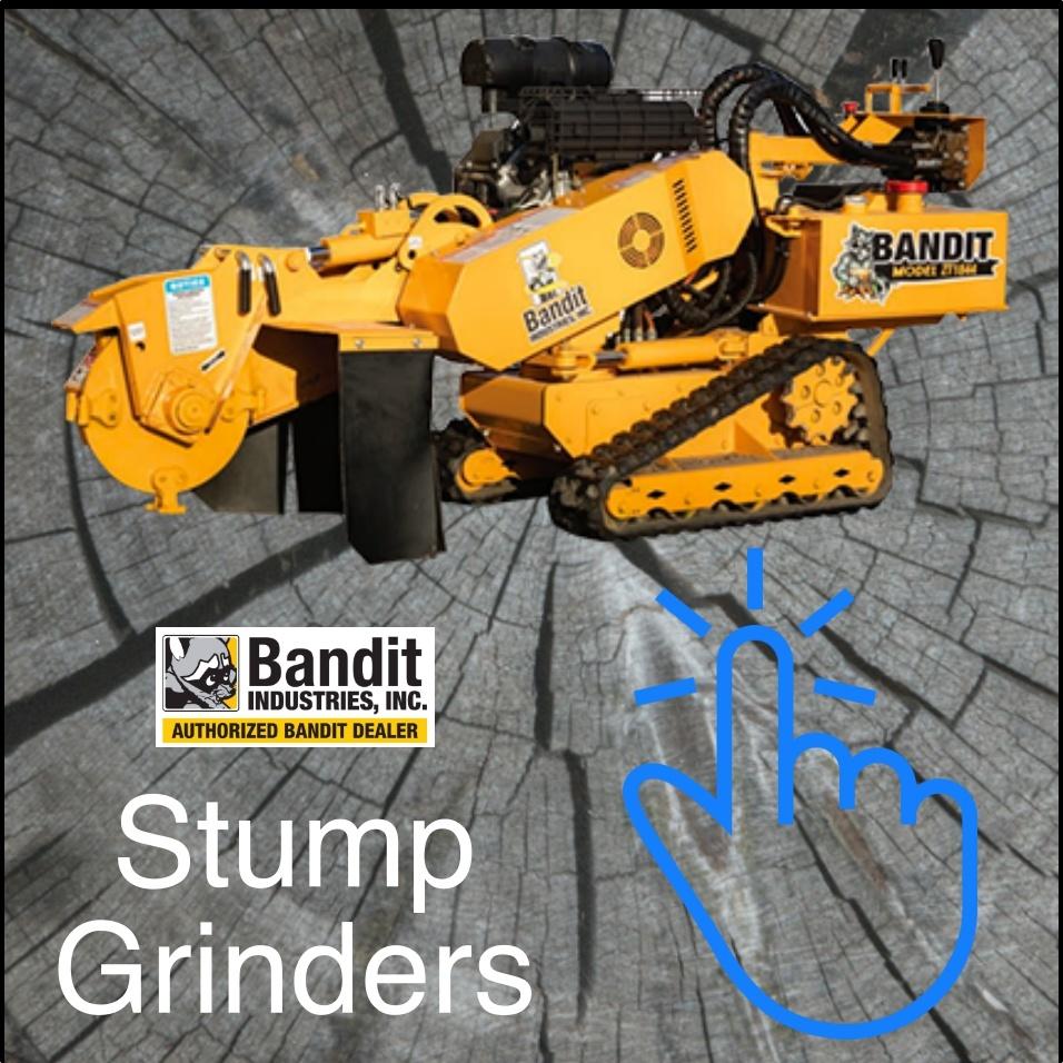 Bandit Stump Grinders