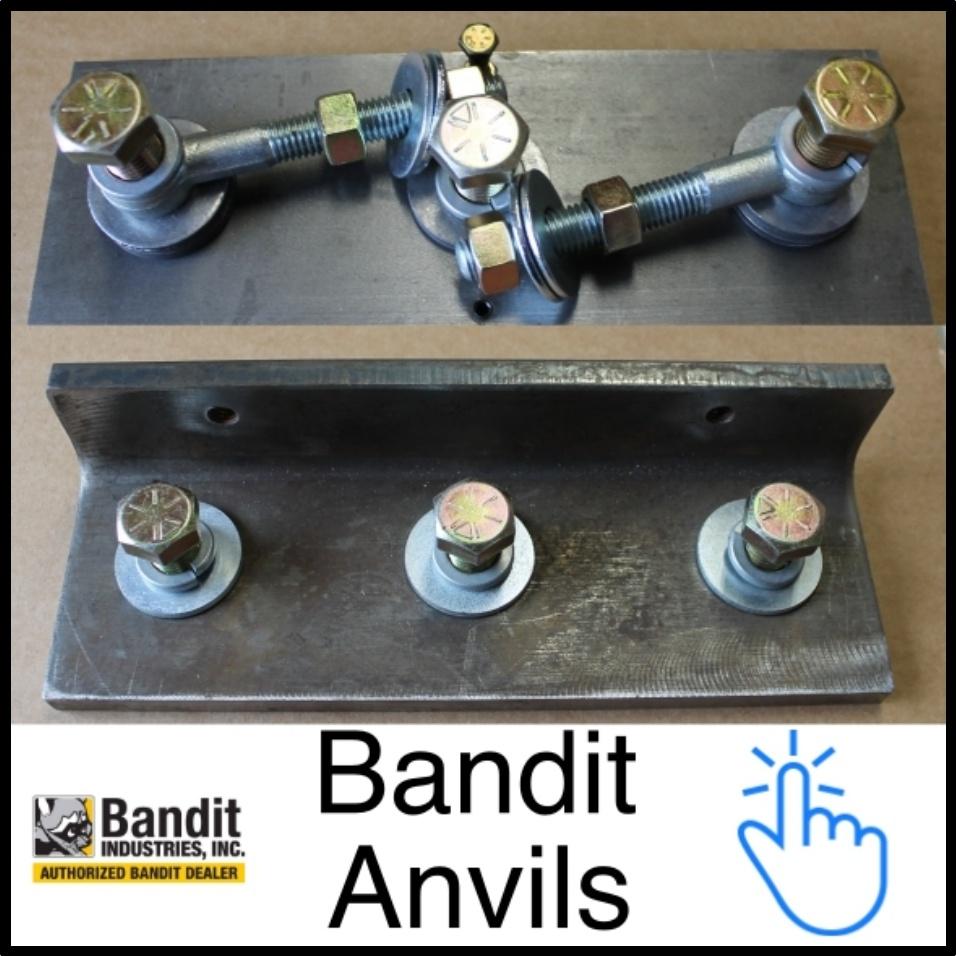 Bandit OEM Anvils