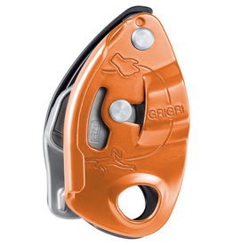 Petzl GRIGRI® assisted braking belay device, RED