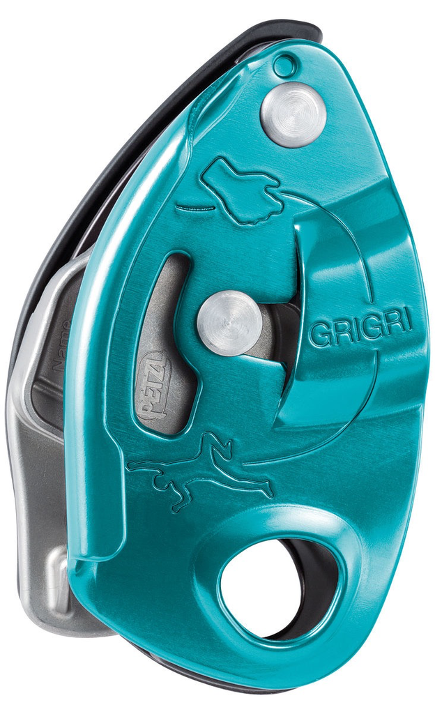 Petzl GRIGRI® assisted braking belay device, Blue
