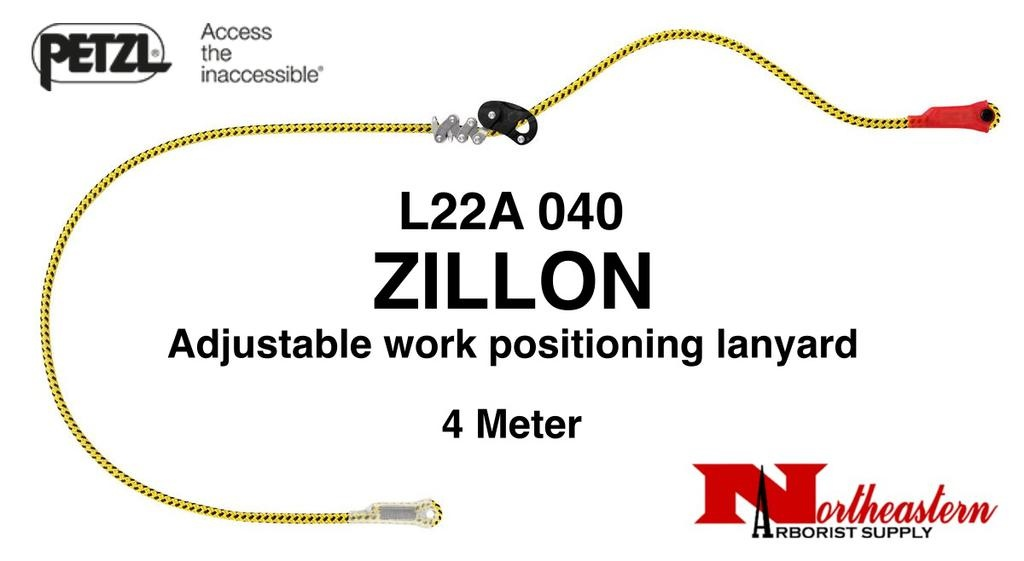 Petzl ZILLON, Adjustable work positioning lanyards