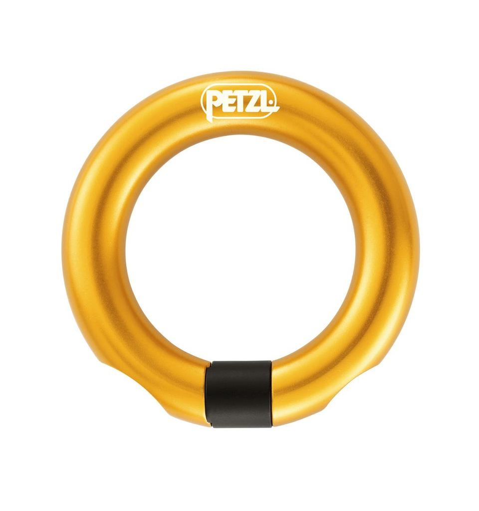 Petzl RING OPEN Multi-directional gated ring 23 kN Max.