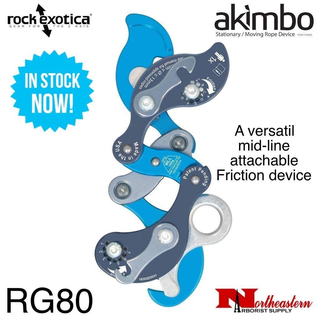 Rock Exotica Akimbo, mid-line attachable Friction Device