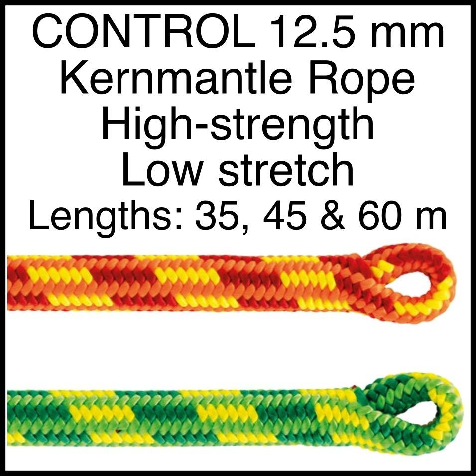 Petzl CONTROL 12.5 mm Kernmantle Rope High-strength Low stretch