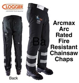 "Clogger ""Arcmax"" Arc Rated Fire Resistant Chainsaw Chaps"