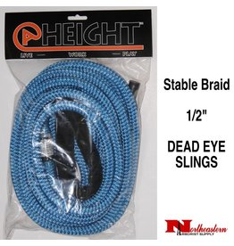 "@ HEIGHT 1/2"" Stable Braid Dead Eye Slings"