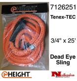 "@ HEIGHT Dead Eye Sling Tenex-TEC 3/4"" x 25'"