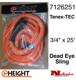 "@ HEIGHT Dead Eye Sling Tenex-TEC 3/4"" x 25'"