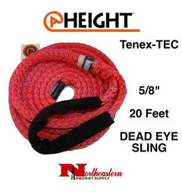 "@ HEIGHT 5/8"" Tenex-Tec Dead Eye Sling x 20'"