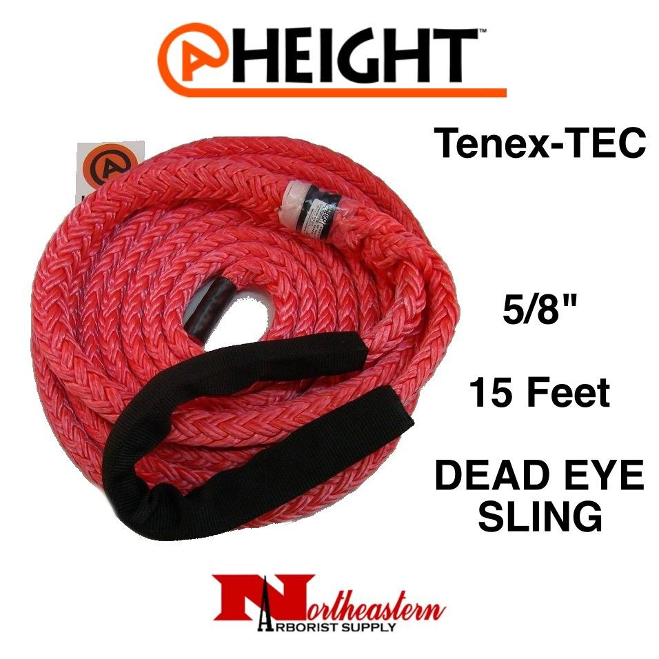 "@ HEIGHT @Height Tenex-TEC 5/8"" Dead Eye Sling x 15'"