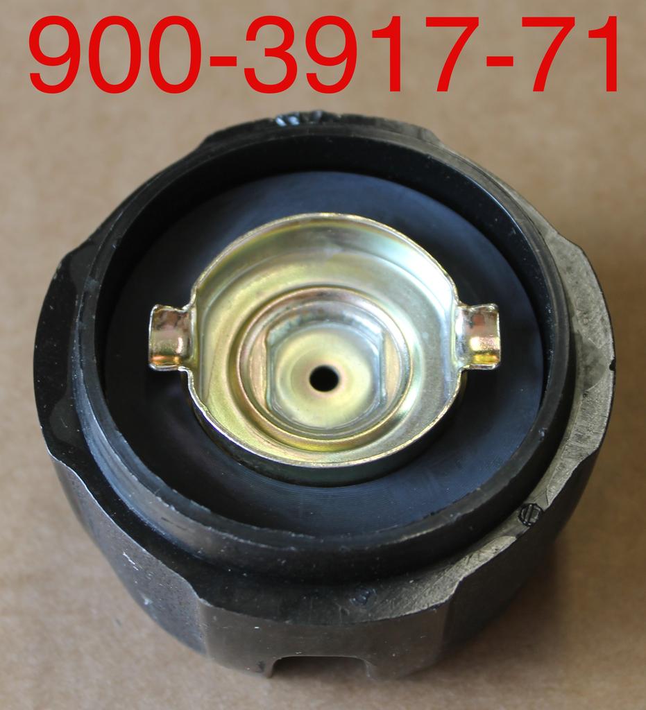 Bandit® Parts Black Plastic Cap Only, NO DIPSTICK 1/4-turn for Metal Tanks