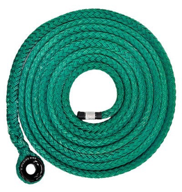 "NOTCH X-Rigging 3/4"" x  25ft Samson Tenex Sling & 28mm X-Rigging Ring Spliced On Working Load limit 2200 lb (10:1)"