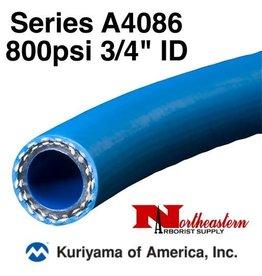 """Kuriyama Hose, 800 psi 3/4"""" ID Blue"""