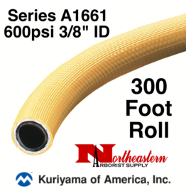 "Kuriyama Hose,  600 psi 3/8"" ID Yellow Tree - 300' ROLL"