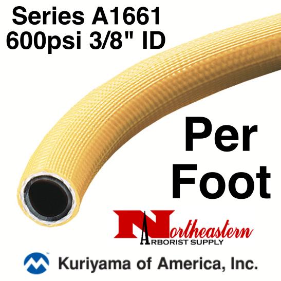 """Kuriyama Hose,  600 psi 3/8"""" ID, Yellow by Kuri Tech®"""