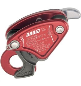 CAMP SAFETY DRUID compact auto-braking descender Red