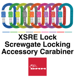 DMM XSRE Lock, Screwgate locking Mini Carabiner