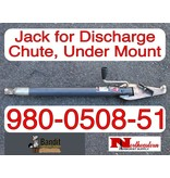 Bandit® Parts Jack for Discharge Chute, Under Mount 980-0508-51