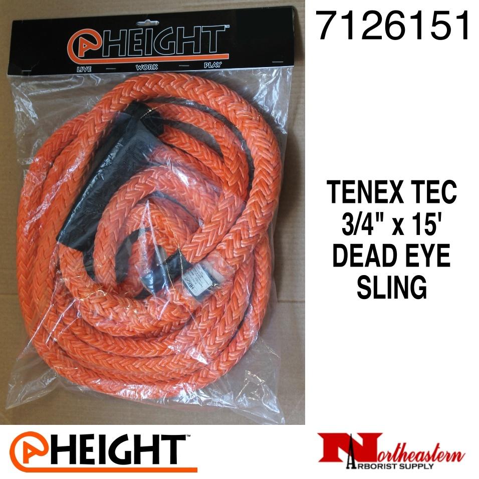 "@ HEIGHT Tenex-Tec 3/4"" Dead Eye Sling x 15'"