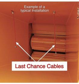 Bandit® Parts Last Chance - Cable KIT, 2 Orange Cables, 2 Pulleys & 6 Clamps