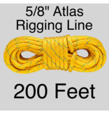 "Sterling Atlas Rigging Line Yellow 5/8"" 19,400lbs ABS"