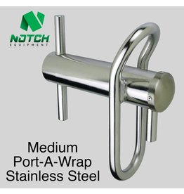 NOTCH Medium Port-A-Wrap Stainless Steel, for lines up to 5/8""
