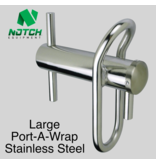 NOTCH Large Port-A-Wrap Stainless Steel, for lines up to 3/4""