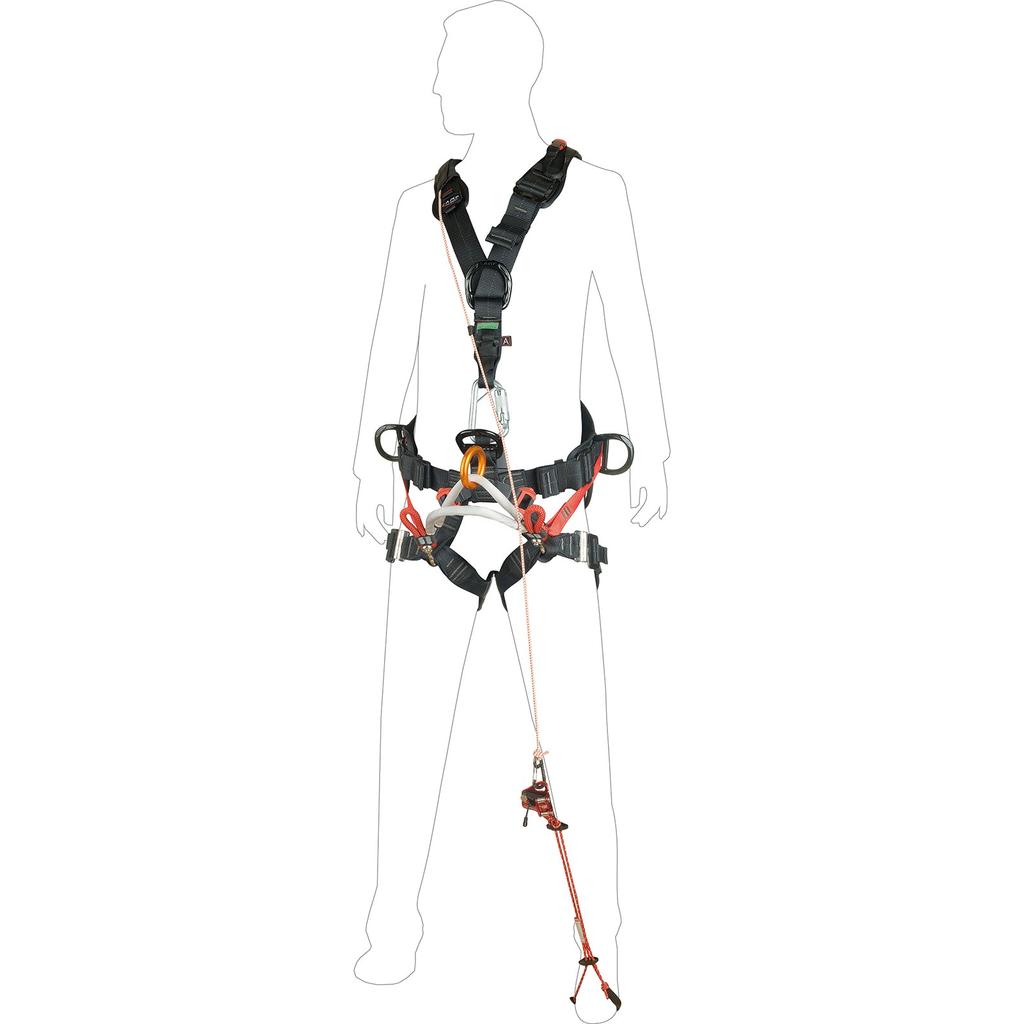 CAMP SAFETY Turboknee System, efficient knee ascender system for SRT tree climbing