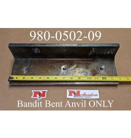 Bandit® Parts Anvil without Hardware for Models 100/150/200 Bent Style, 980-0502-09
