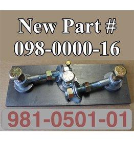 Bandit® Parts Anvil 4 Sided with Hardware Model 250, Built After 1.25.95, 981-0501-01