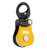 Petzl Spin L1 Very high efficiency single pulley with swivel
