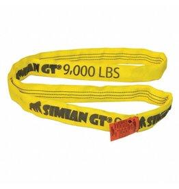 Stren-Flex® SIMIAN™ GT Roundslings YELLOW - V 9000, C 7200, B 18K LBS