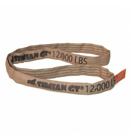 Stren-Flex® SIMIAN™ GT roundslings Tan  - V 12k, C 9600, B 24K LBS