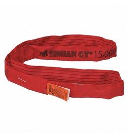 Stren-Flex® SIMIAN™ GT Roundslings RED  - V 15k, C 12k, B 30K Lbs