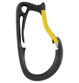 Petzl CARITOOL Large with Yellow Plastic Gate Cover, a Harness/Saddle tool holder