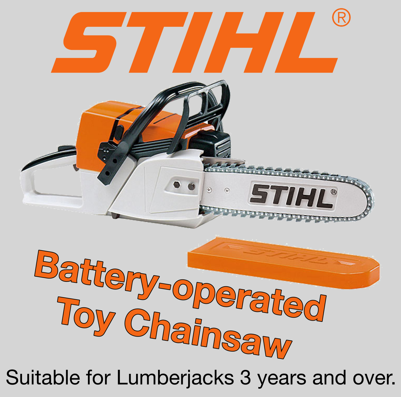STIHL® Children's Battery Operated Chainsaw Toy
