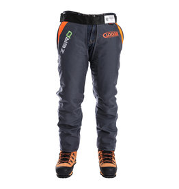 Clogger Zero Light and Cool Chainsaw Chaps, Apron Style