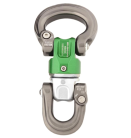 DMM Nexus Swivel S-L, Silver/Green/Titanium Color