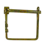 """Buyers Pin, 1/4"""" Diameter x 3"""" Usable, Yellow Zinc Plated, Snapper Style Pin"""