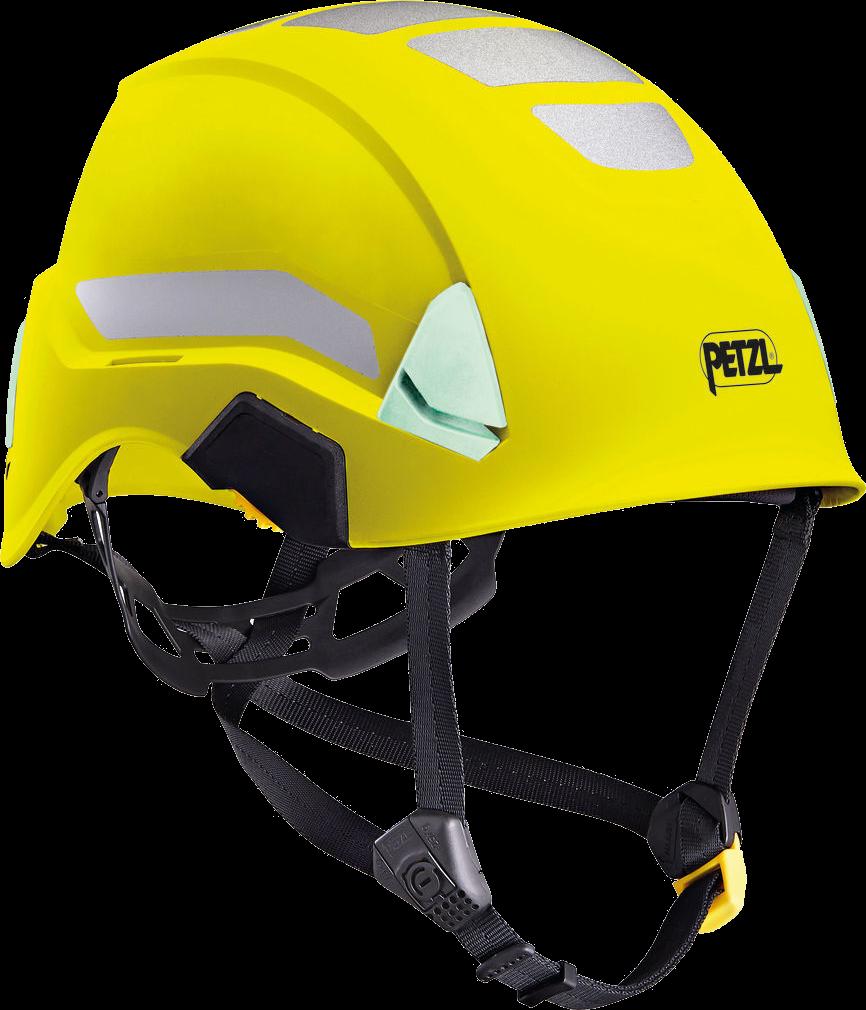 Petzl STRATO® HI-VIZ Lightweight Unvented Helmets