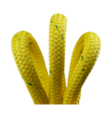 """All Gear Inc. Husky Bull Rope™ 9/16"""" x 150' 14,000lbs. ABS, Yellow with Green Tracer"""