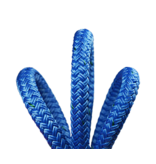 """All Gear Inc. Husky .5™ Bull Rope 1/2"""" x 150' 9,500lbs ABS, Blue with Green Tracer"""