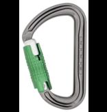 DMM Carabiner, Shadow Locksafe, 24Kn Titanium/Green Color
