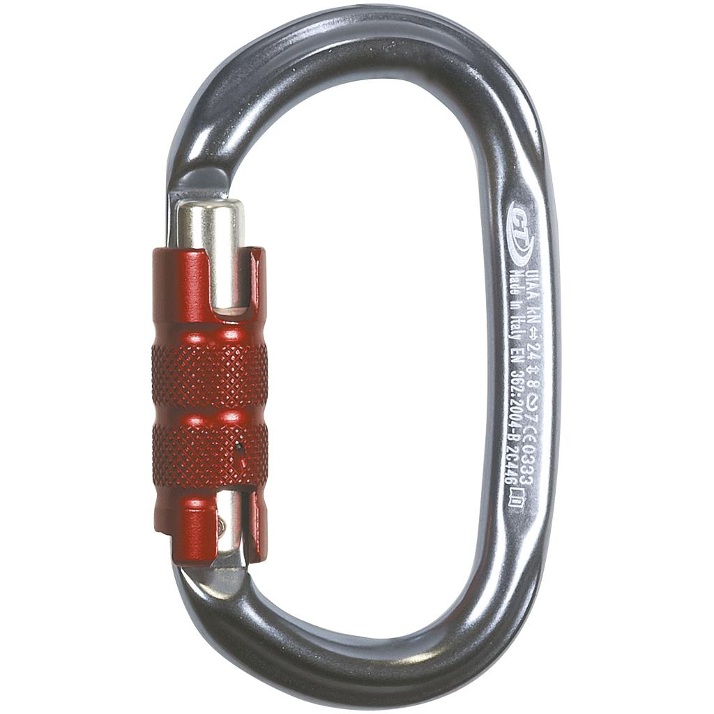 CT Carabiner, PILLAR TG Standard Aluminum Oval, 24kN