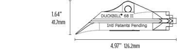 DuckBill Anchor Model 68