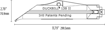 DuckBill Anchor Model 138